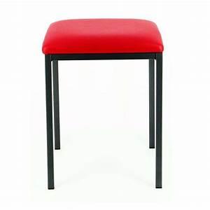 Tabouret Bas Design : tabouret bas design slide en m tal 4 pieds tables chaises et tabourets ~ Teatrodelosmanantiales.com Idées de Décoration