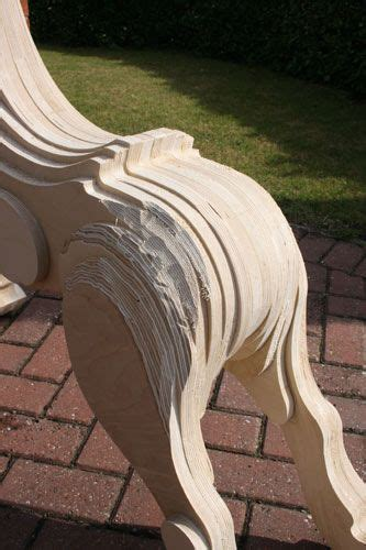 making  laminated rocking horse wood rocking horse