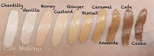 Eyeliner Chart Nars Radiant Creamy Concealer Swatches In Custard