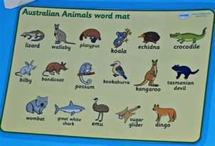 Australian Australia Animals Names