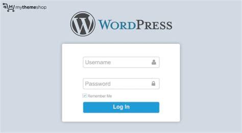 How To Create A Custom Wordpress Login Url