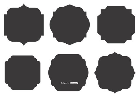 Svg animation with text tutorial | html css. Blank Vector Label Shapes - Download Free Vectors, Clipart ...