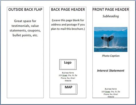 how to make a trifold pamphlet in word how to make a brochure in ms word 2007 printaholic com