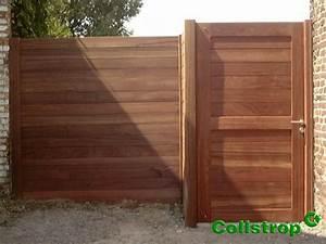 Cloture Jardin Bois : palissade bois jardin cloture pleine idmaison ~ Premium-room.com Idées de Décoration