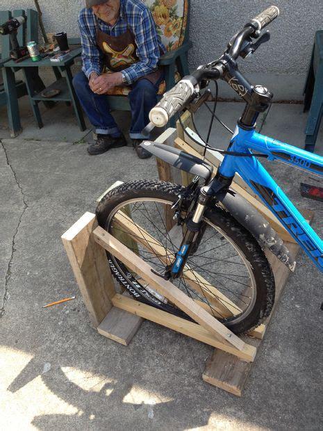 wood bike rack wood bike rack
