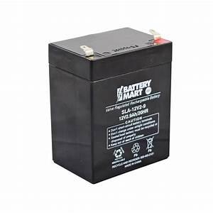 Batterie 12 Volts : 12 volt 2 9 ah sealed lead acid rechargeable battery f1 ~ Farleysfitness.com Idées de Décoration