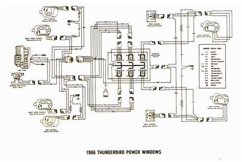 Thunderbird Relay Wiring by I Am Current Troubleshooting Power Windows On A 1966 Ford