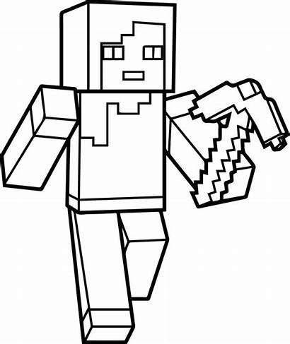 Minecraft Creeper Drawing Coloring Pages Printable Getdrawings