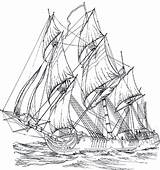 Coloring Pages Adult Ships Rigged Ship Adults Sailing Sheets Da Colorare Outline Tall Printable Coloringpagesforadult Wood Barca Drawings Disegni Designlooter sketch template
