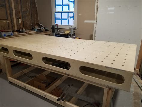 paulk style workbench  dustin  lumberjocks