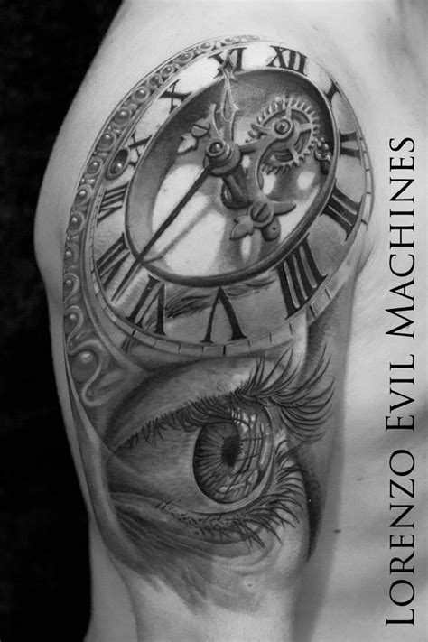 85 best Tattoo Ref. Clocks & Time images on Pinterest | Eyes, So true and World