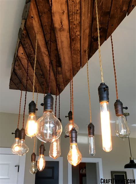Diy Edison Chandelier by Edison Bulb Chandelier A Diy Overview Craft Thyme