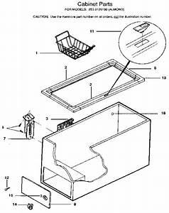 Kenmore Chest Freezer Parts