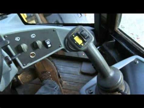 cat small wheel loader operator station  controls