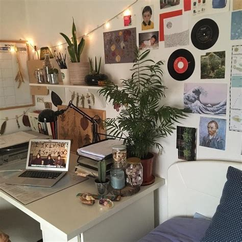 room ideas artsy aesthetic vintage  grunge kanken
