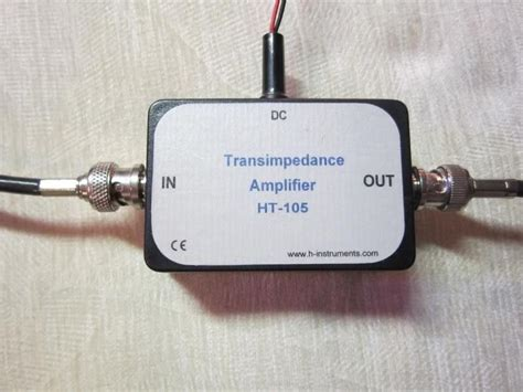 Transimpedance Amplifier Photodiode