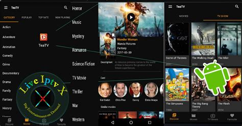 Tea Tv Apk  Watch Movies By Category And Tv Shows Free On