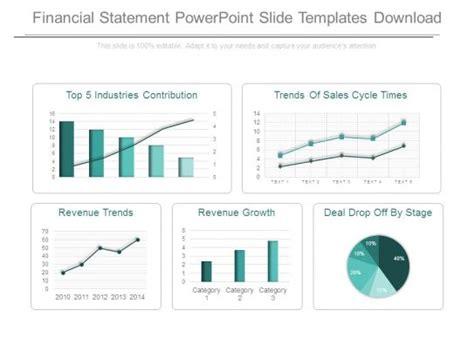 financial statement powerpoint  templates