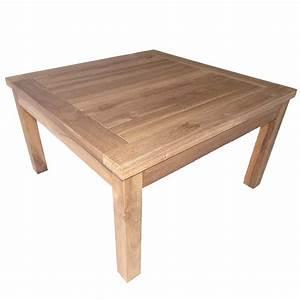 Table Bois Exterieur : table basse bois exterieur ~ Teatrodelosmanantiales.com Idées de Décoration