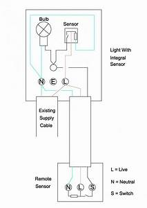 Wiring Extra Sensor Into Security Light