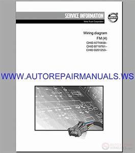 Volvo Fm  4  Trucks Wiring Diagram Service Manual