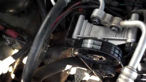 bypass ac compressor compressor locked   chevy