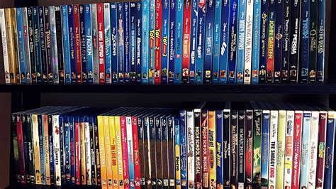 My Complete Disney/pixar Blu Ray Collection