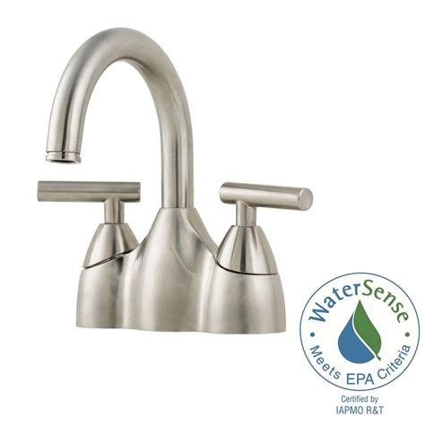 price pfister contempra kitchen faucet pfister contempra centerset bathroom faucet brushed nickel