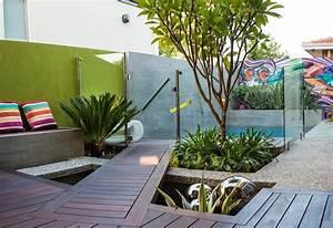 Kleiner Pool Terrasse : kleiner garten im hinterhof 88 moderne gestaltungsideen ~ Sanjose-hotels-ca.com Haus und Dekorationen
