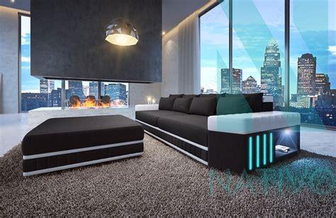 canapé profond canapé skyline ac éclairage led nativo mobilier design