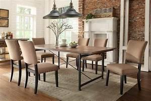 salle a manger moderne et sombre 50 idees elegantes With meuble salle À manger avec chaise grise moderne
