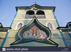 Serafimov Friedhof Kirche den Namen St Seraphim von