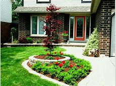 Large Size How To Landscape Your Front Yard On A Budget
