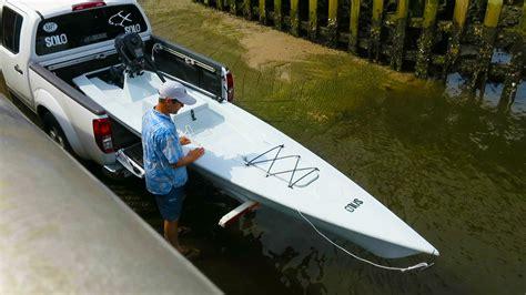 Skiff Kayak Launch by Launching Loading Your Skiff Skiff