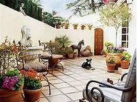 interesting mediterranean patio decor ideas Magic of Terracotta for Your Décor | My Decorative