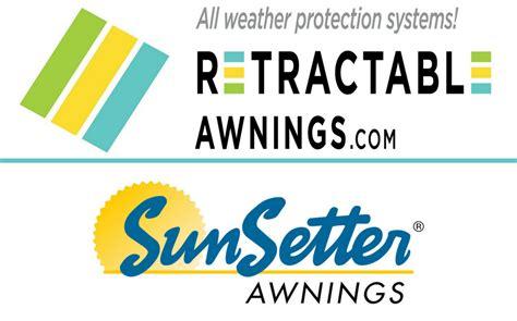 retractableawningscom  sunsetter comparison