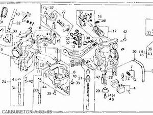 honda xl600r 1985 f usa parts list partsmanual partsfiche With diagram of suzuki motorcycle parts 1983 gs1100s starter clutch diagram