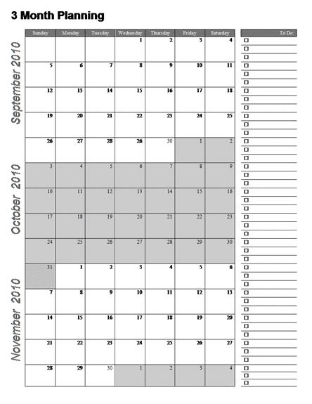 month calendar template word calendar system ideas