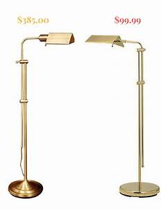 High low options brass pharmacy lamps confettistyle for Threshold 3 head floor lamp antique brass finish
