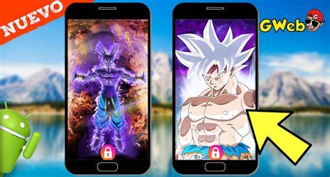 los mejores fondos animados de dbz  super  android