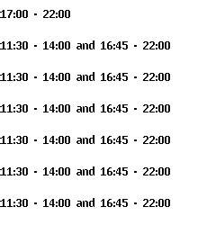 Lotus Garden Hours by Lotus Garden Tervuren Opening Hours And Times