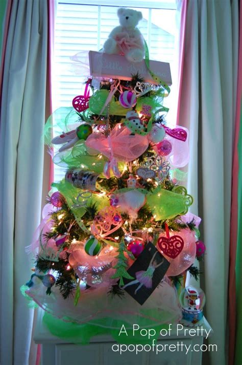 Ballerina Tree Decoration - how to decorate a ballerina tree a pop of