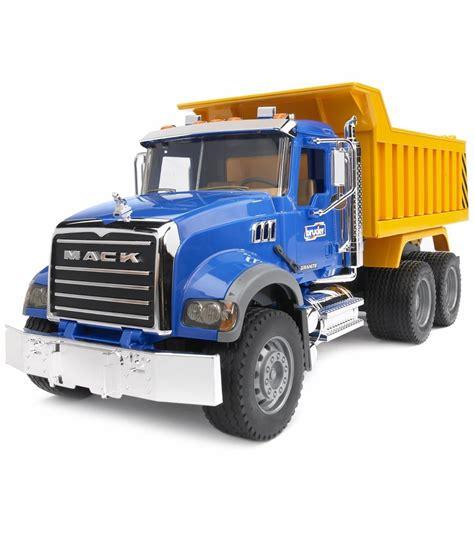 mack dump truck bruder mack granite dump truck