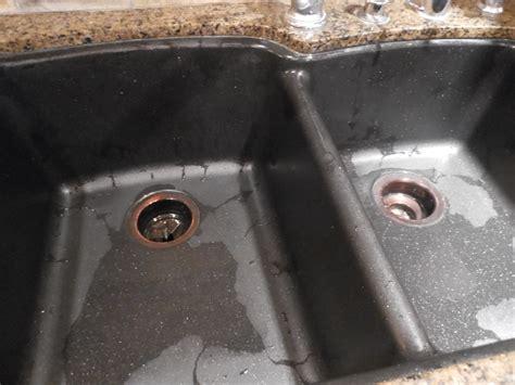 how to clean black granite composite kitchen sink granite sink kitchen warm home design 9705