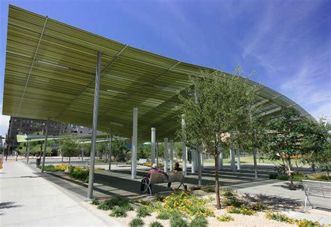 phoenix ls and shades phoenix civic space shade canopies architekton archdaily