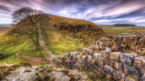 Hadrians Wall Called The Roman Wall Was A Defensive Fortress In The Roman Province Of Britain