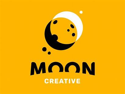Moon Animated Creative Typography Designs Studio Trends