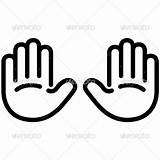 Outline Handprint Icon Clipart Template Coloring Palm Helping Hands Clip Outlines Graphicriver Vector Simple Clipartpanda Clipartmag Presentations Websites Reports Powerpoint sketch template