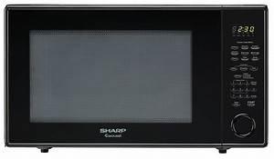 R-659yk 2 2 Cu Ft Black Countertop Microwave
