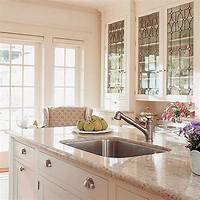 glass kitchen cabinets Bright Glass Front Kitchen Cabinet Doors | Spotlats